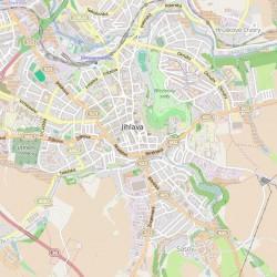 mapa jihlavy